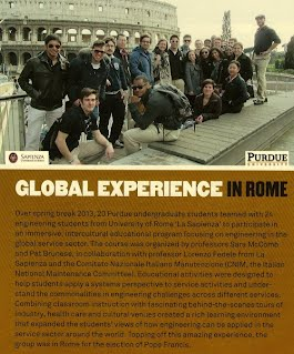 International Training Purdue-Sapienza